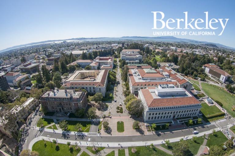 ID: aerial view of UC Berkeley campus