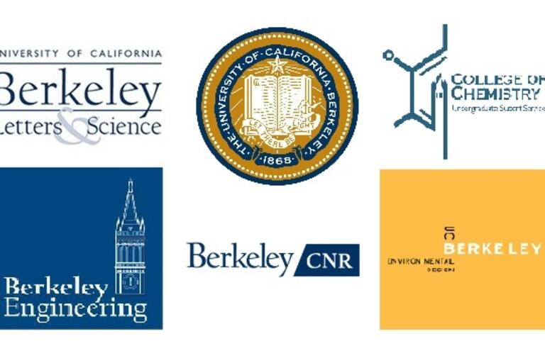 ID: 6 different logos of UC Berkeley's colleges
