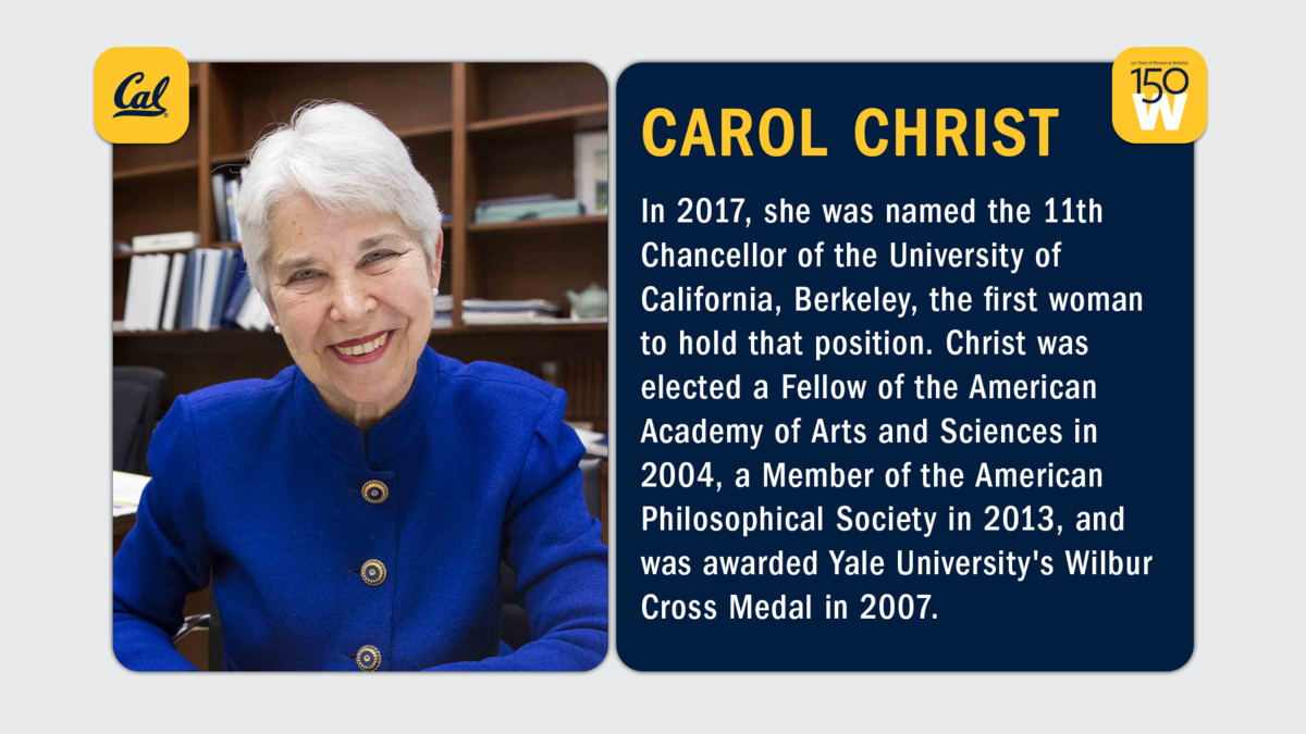 Carol Christ