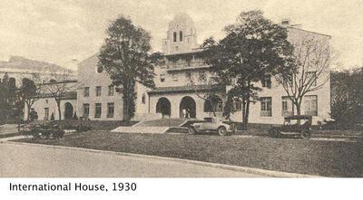 image of UC Berkeley's international house in 1930